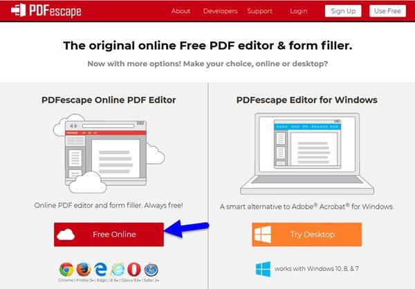 Сервис для изменения pdf файлов!